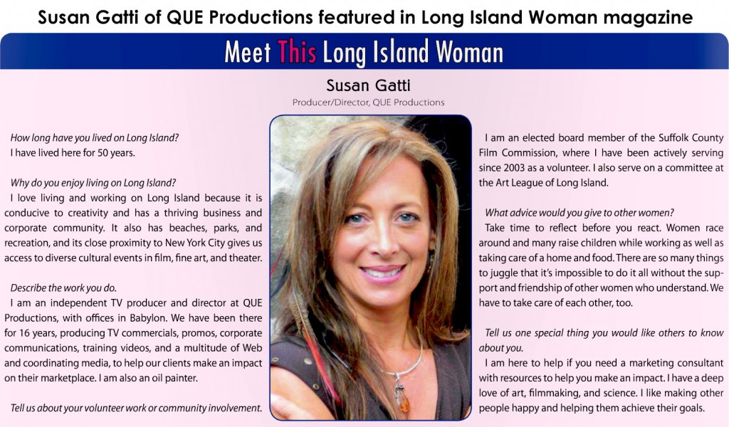 Susan Gatti-Long Island Woman